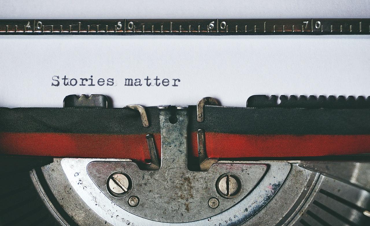 Type Writer-Stories Matter